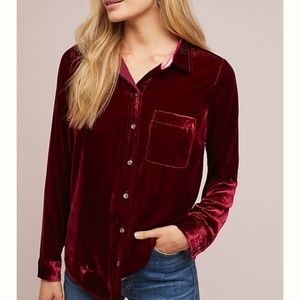 NWT Anthropologie | Maeve | long sleeve top size 6